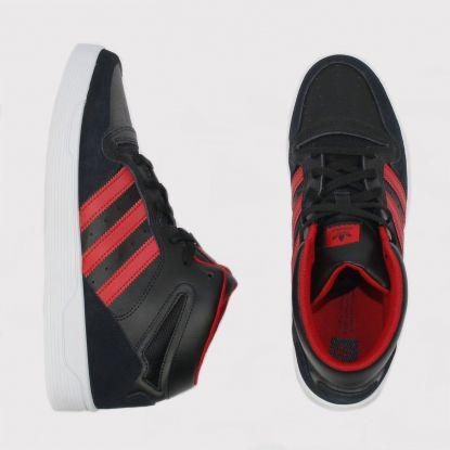 Tênis Adidas Locator Mid Preto/Branco/Vermelho