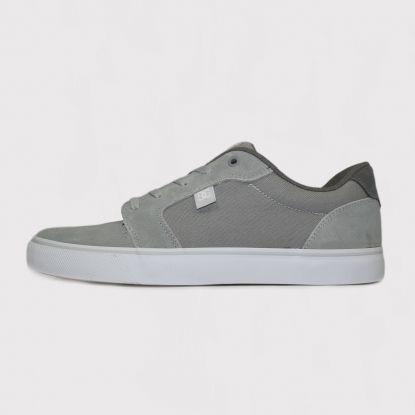 Tênis DC Shoes Anvil LA - Cinza/Branco