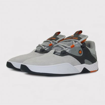 Tênis Dc Shoes Kalis - Grey/Cinza/Orange/Laranja