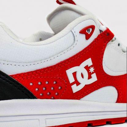 Tênis DC Shoes Kalis Lite - Branco/Vermelho