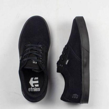 Tênis Etnies Jameson Black/Black (Preto) + Cadarço