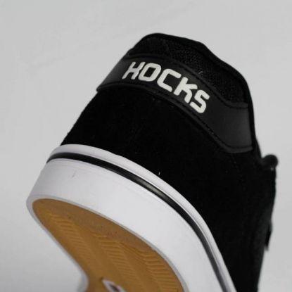 Tênis Hocks Flat Lite - Black White