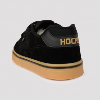 Tênis Hocks Flat Lite - Preto/Natural