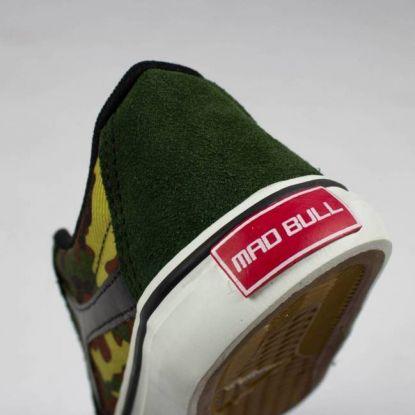 Tênis Mad Bull SK8 - Camuflado/Verde/Branco
