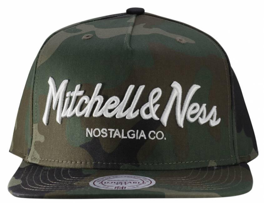 Boné Mitchell & Ness Snapback Camu