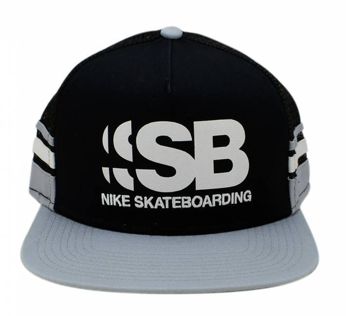 d3960bc670 Boné Nike SB Cut Trucker Preto/Cinza - Skate Shop | Streetwear ...