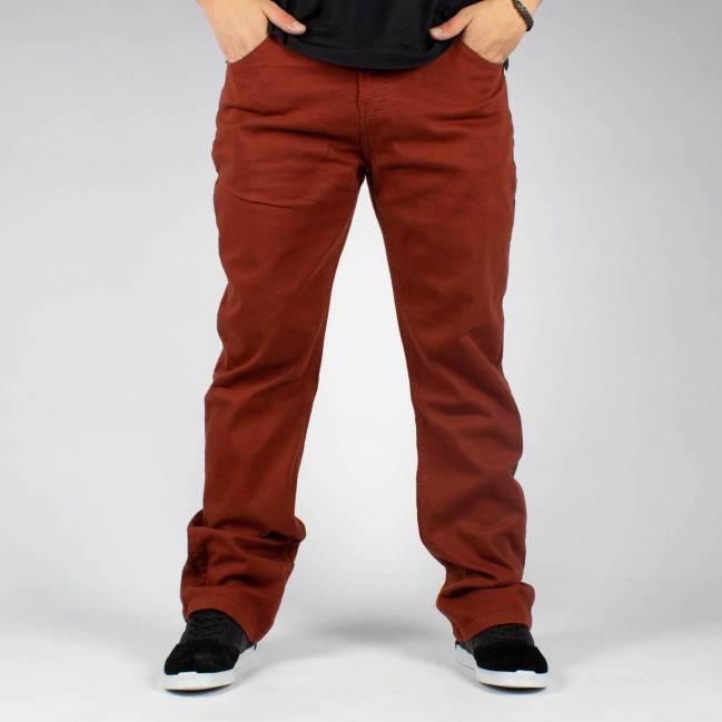 Calça Dc Shoes Jeans Straight Color Terra