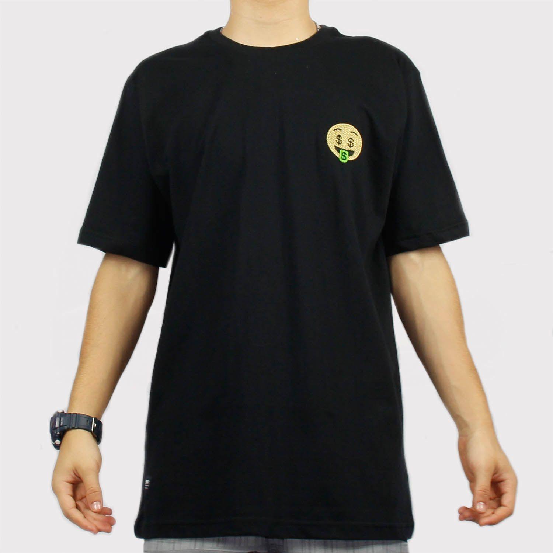 Camiseta Chronic Emoji Money - Preto