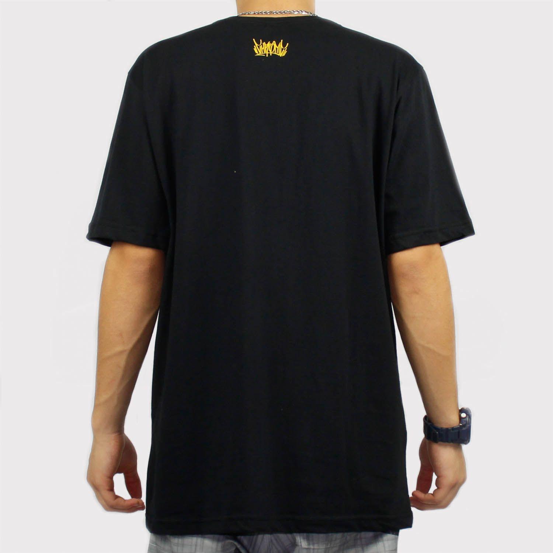 Camiseta Chronic Emoji Money Preto