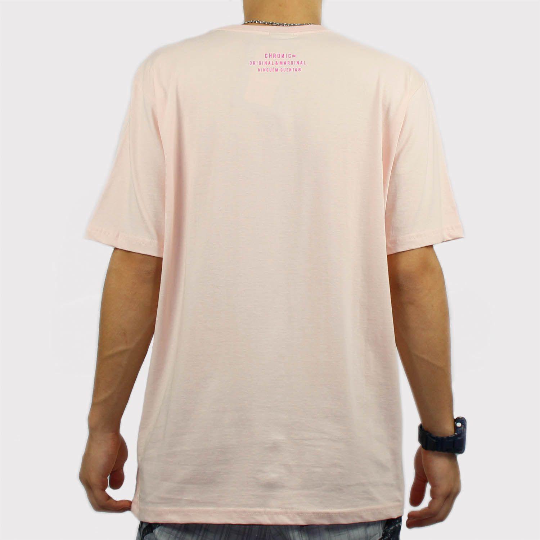 Camiseta Chronic Fuck Rosa Bebê/Rosa
