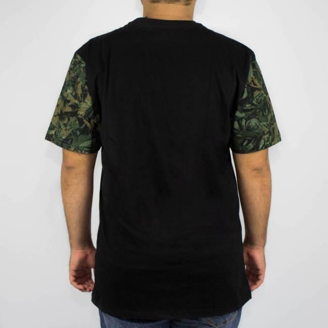 Camiseta DC Shoes Esp Camo Circle - Preta