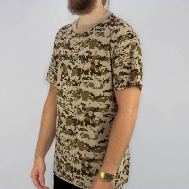 Camiseta DC Shoes Esp Iqui - Camo