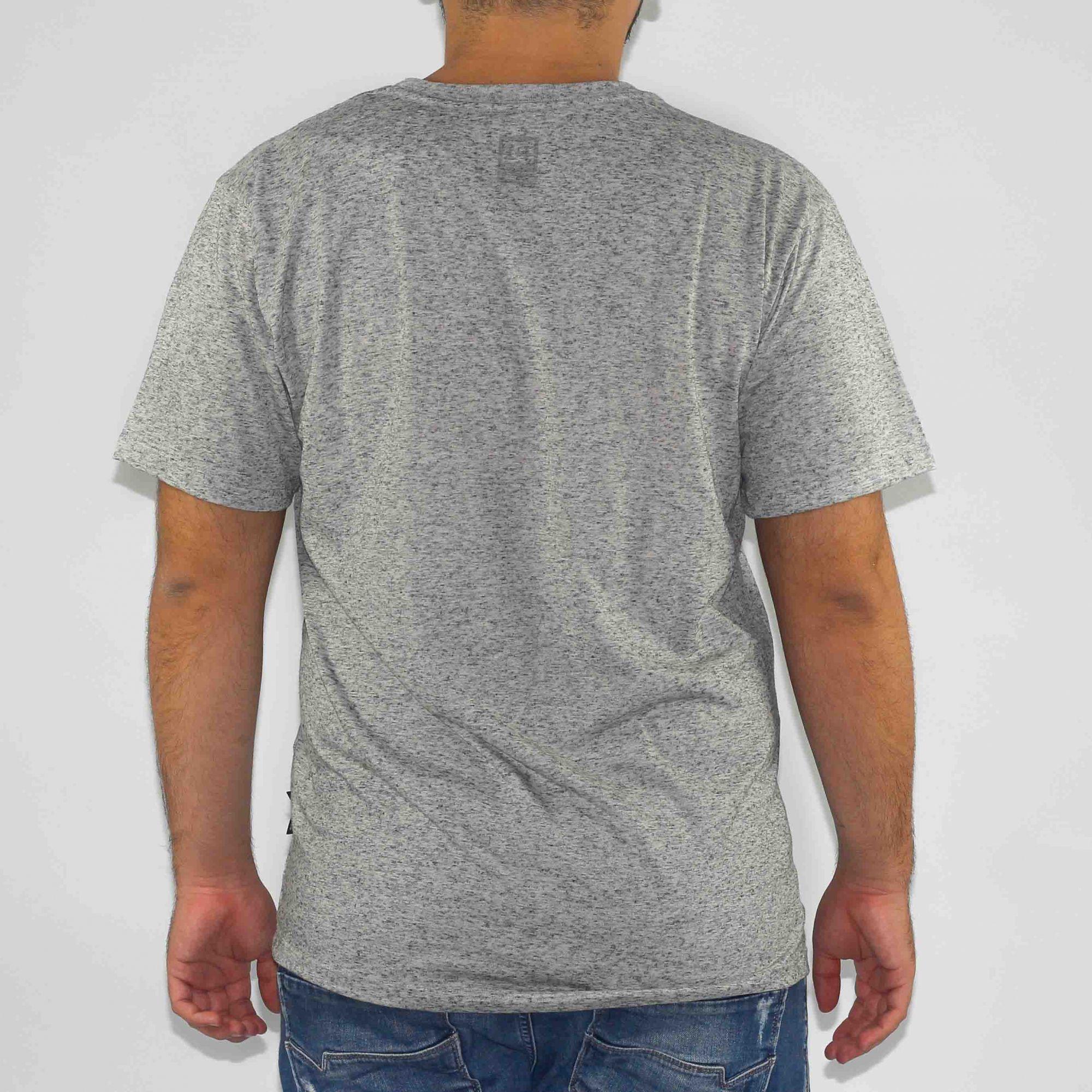 Camiseta DC Shoes ESP Linho Cinza Heather