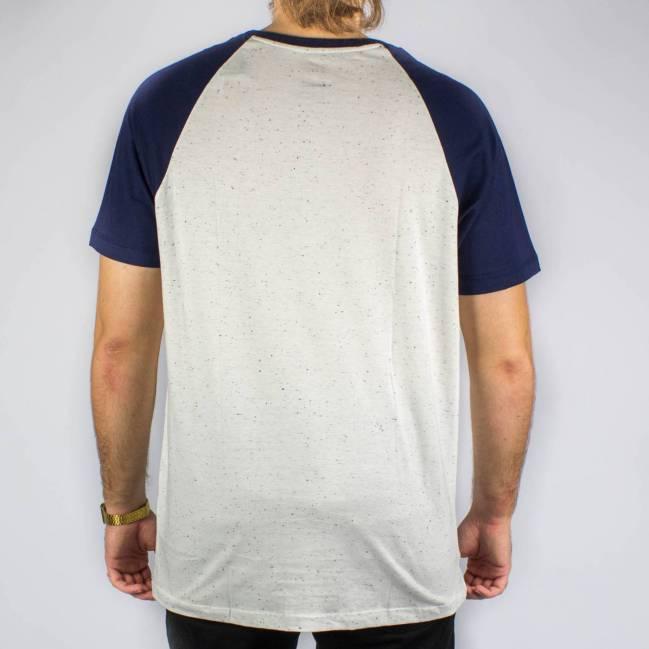 Camiseta DC Shoes ESP Pack Raglan Branca Gelo