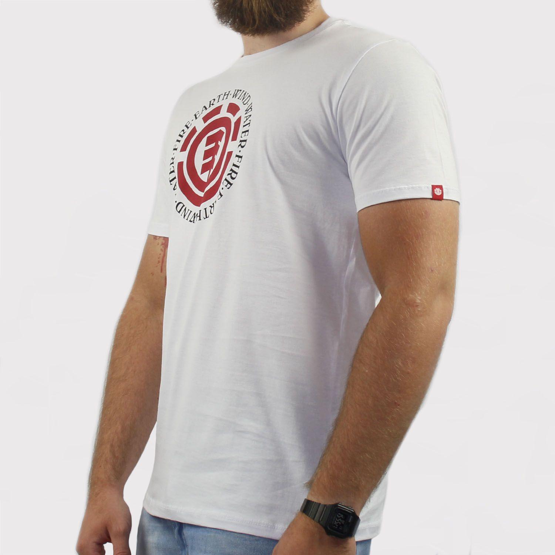 Camiseta Element Seal - Branca