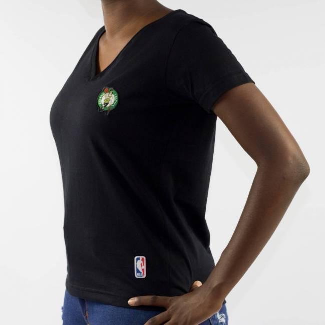 Camiseta NBA Feminina Celtics - Preta