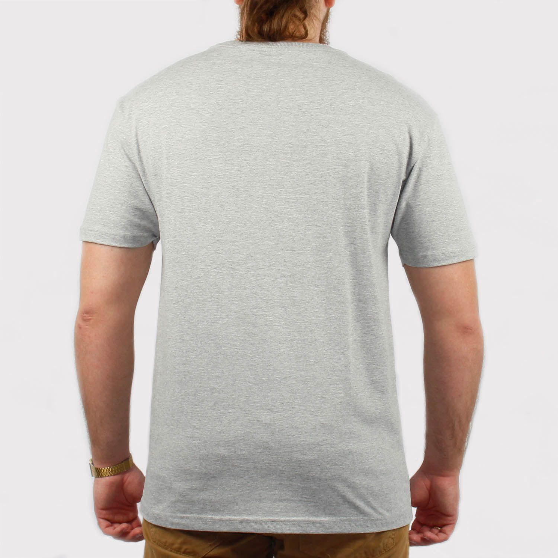Camiseta Grizzly Thug Bear - Cinza Mescla