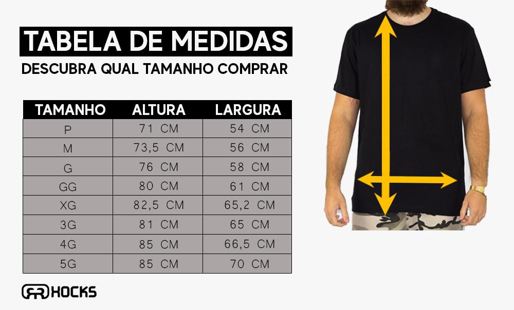 Camiseta Hocks Zebra Listrada - Preta/Branca