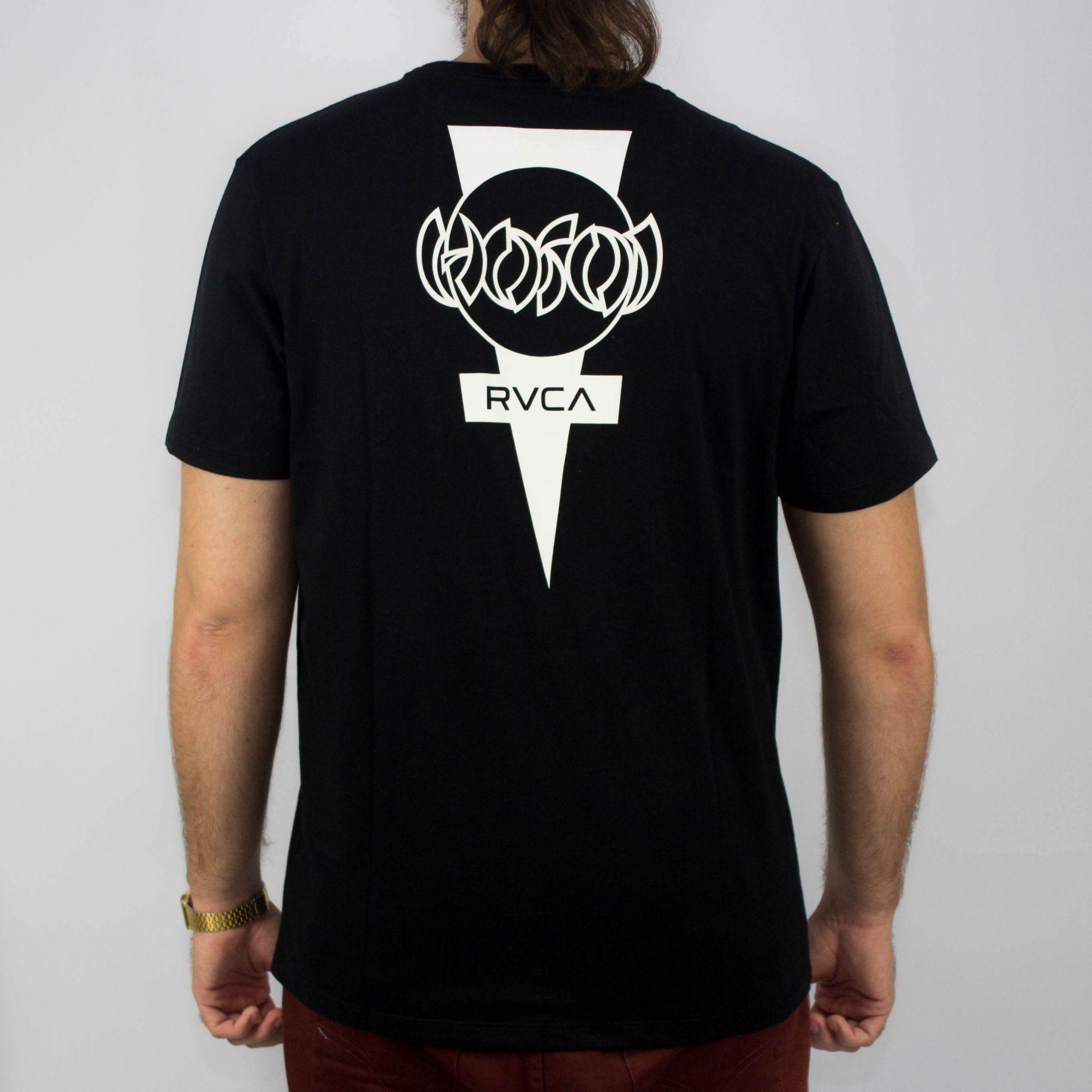 Camiseta RVCA Hosoi DayShif T Preta