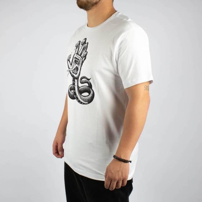 Camiseta Santa Cruz Hising Hand Branco