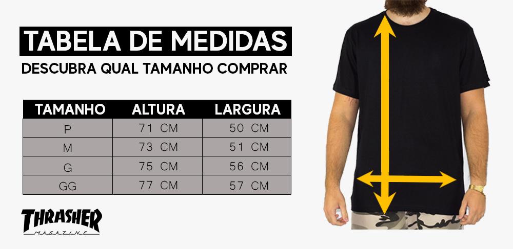 Camiseta Thrasher Skate Mag Amarela