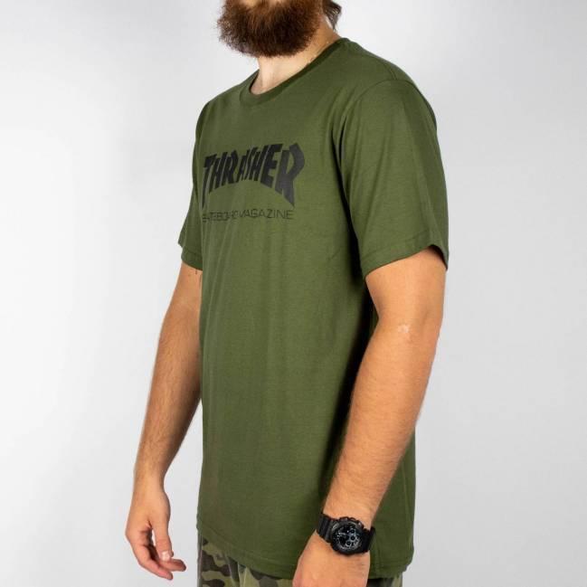Camiseta Thrasher Skate Mag - Verde