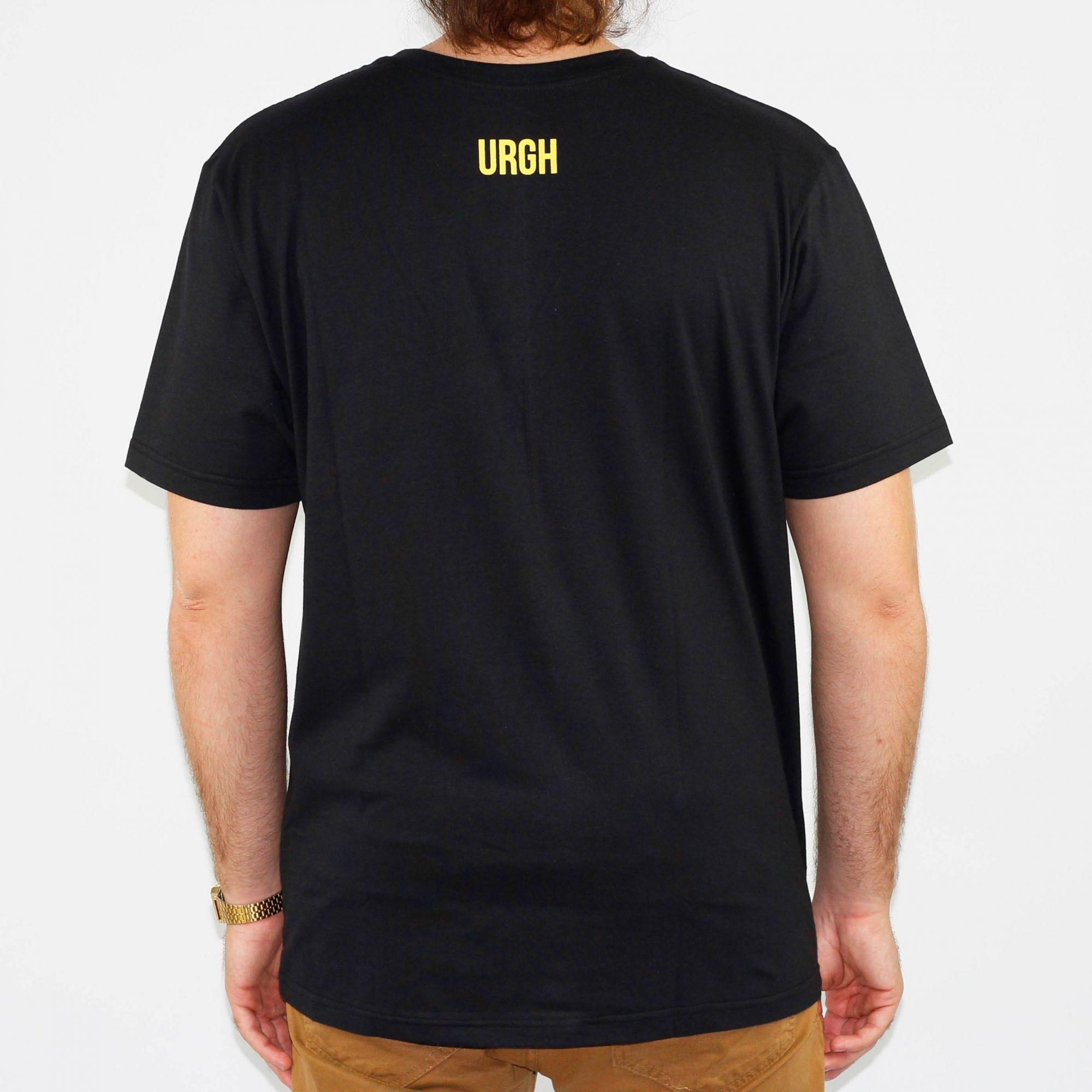 Camiseta Urgh Big Fire - Preta