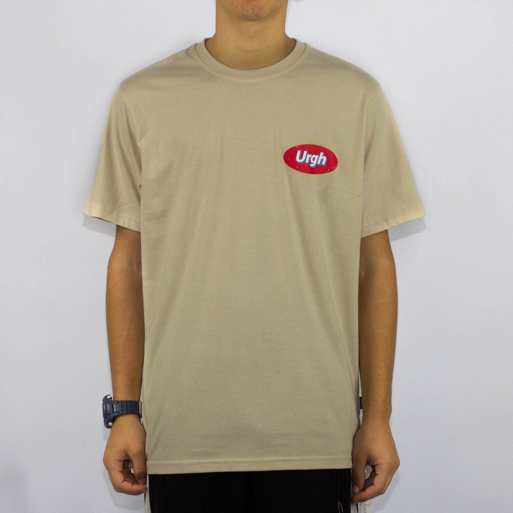 Camiseta Urgh Station - Creme