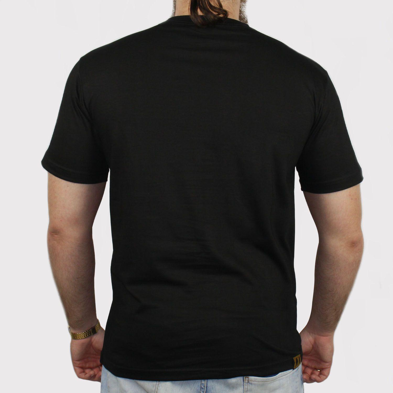 Camiseta XXL Logo - Preto (Tamanho Especial)