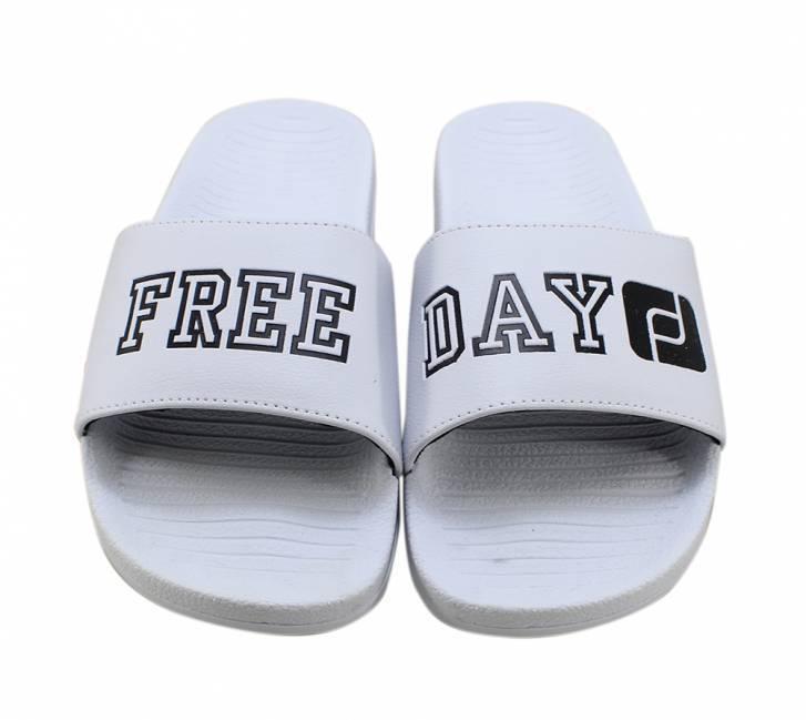 Chinelo Freeday Slide Branco