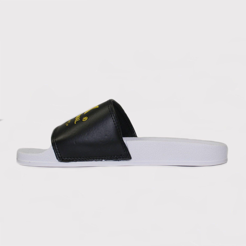 Chinelo Qix Slide - Preto/Amarelo
