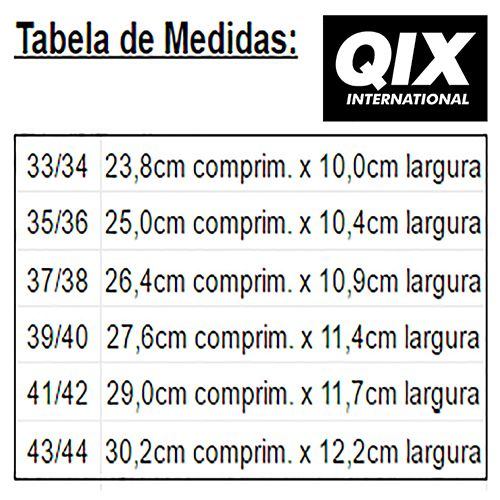 Chinelo Qix SKT Slide - Preto/Branco