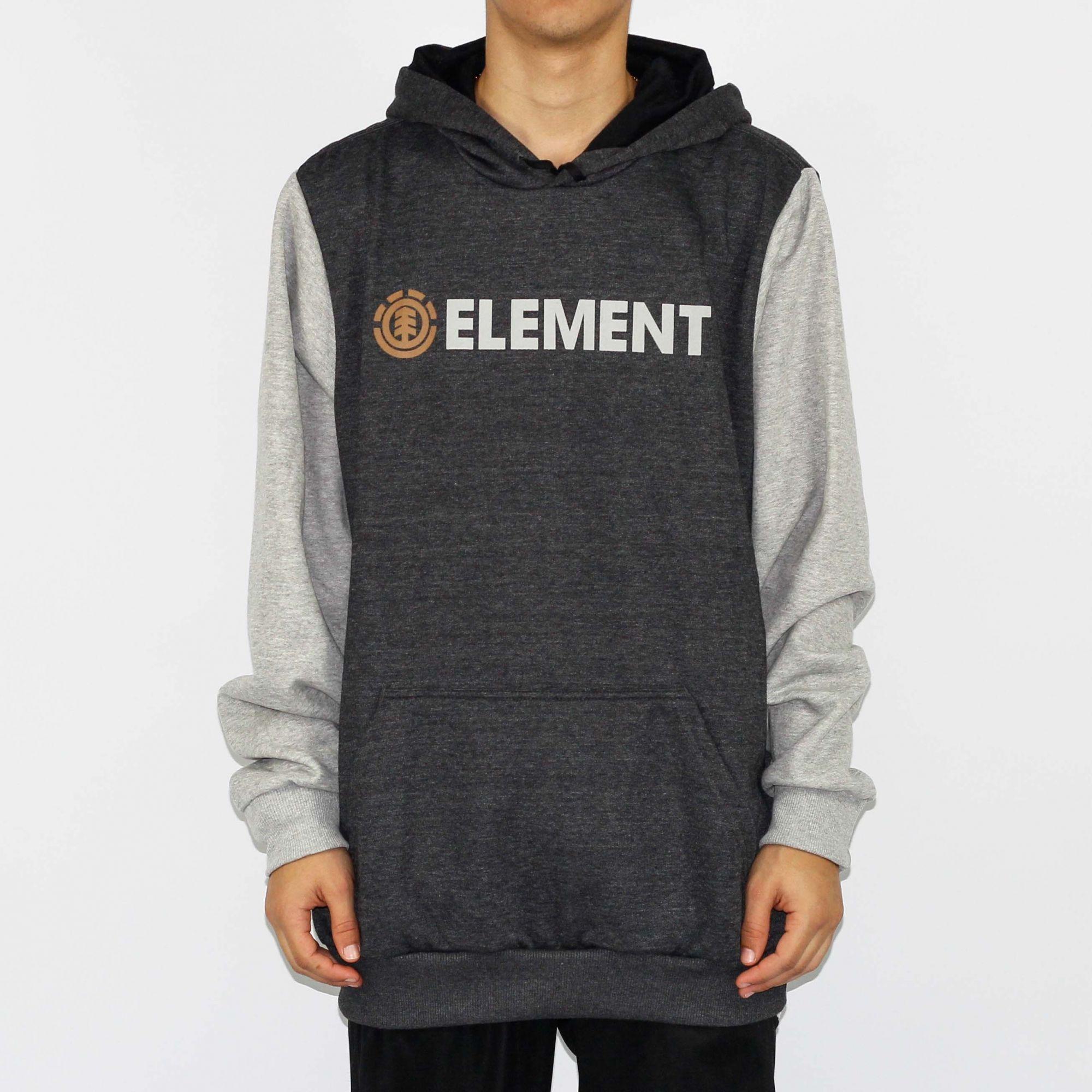 2d457eb7f Moletom Element Duo Block Cinza Mescla - Skate Shop | Streetwear ...
