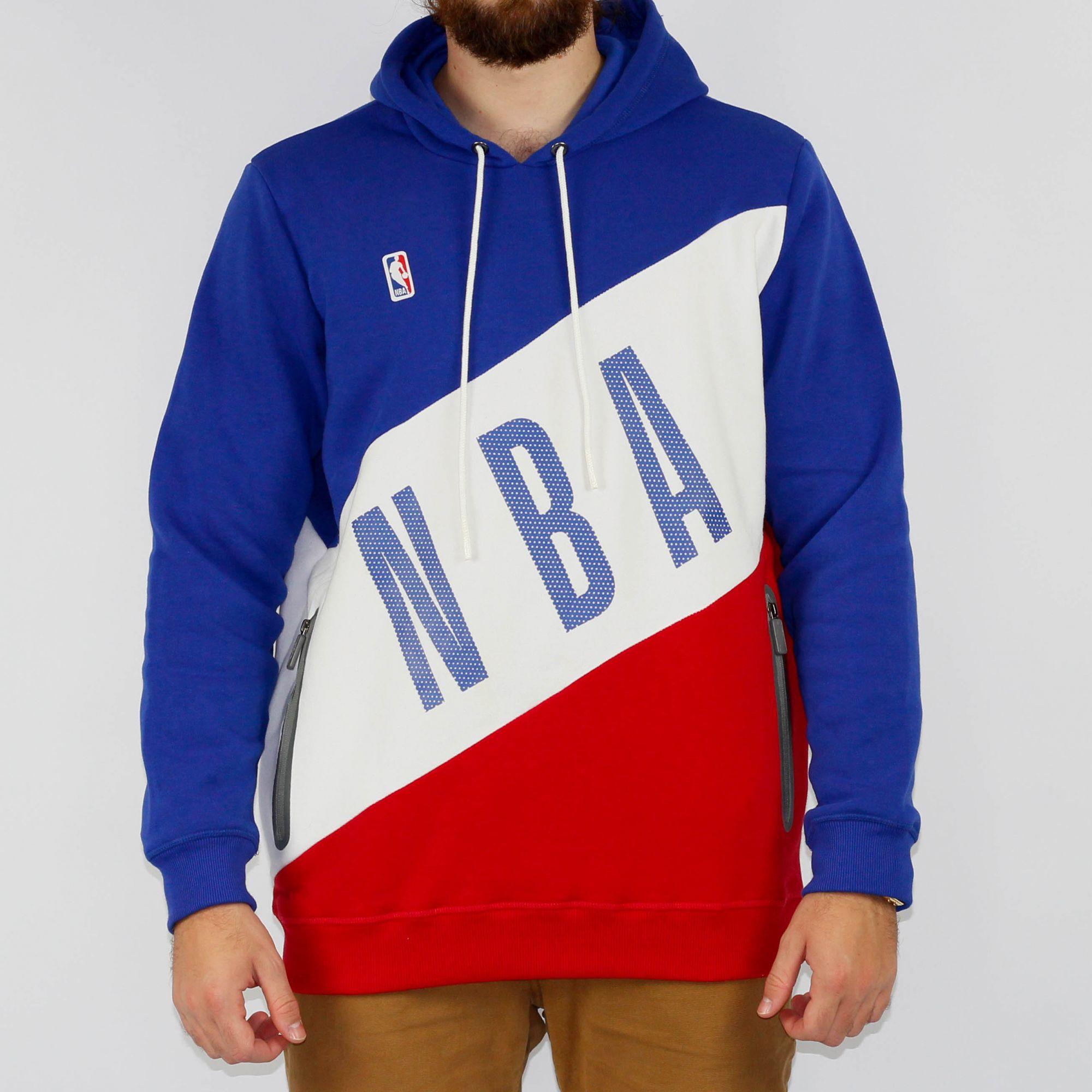 Moletom NBA Azul/Branco/Vermelho