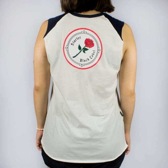 6f70f3a041 Regata Feminina Starter Black Label Branca/Azul - Skate Shop ...