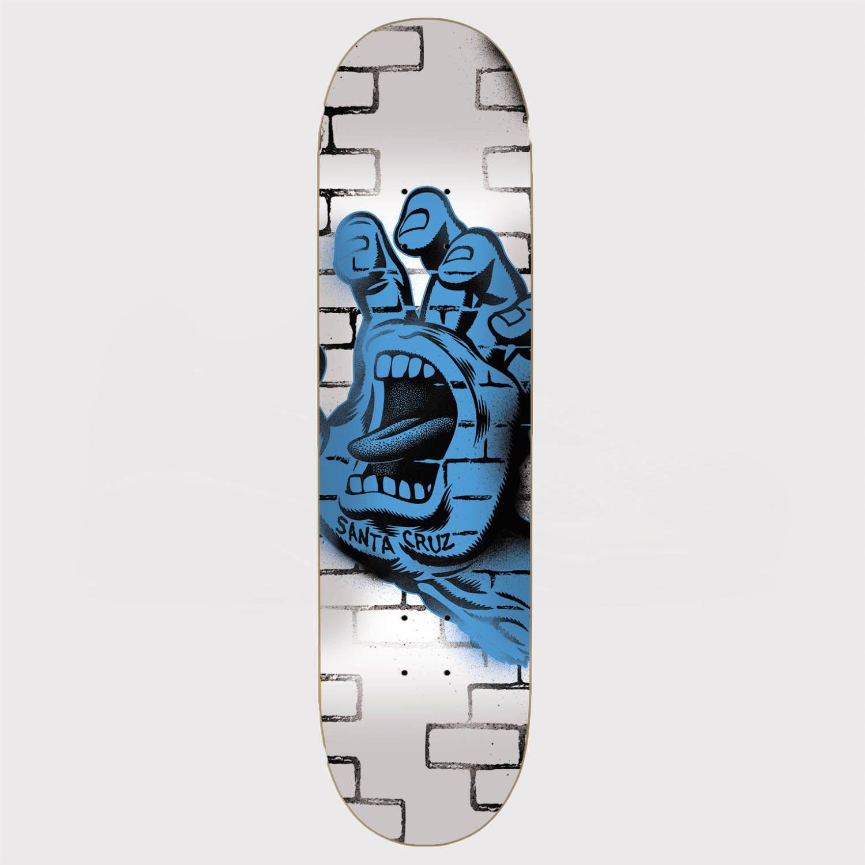 Shape Santa Cruz Powerlyte Spray Hand 7.75 White Branco/Azul