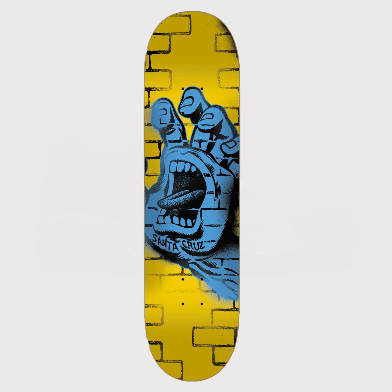 Shape Santa Cruz Powerlyte Spray Hand 7.9 Yellow Amarelo/Azul