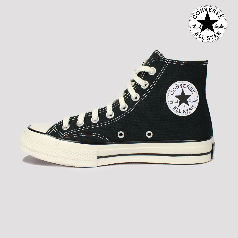 Tênis Converse Chuck 70 Hi - Preto/Branco