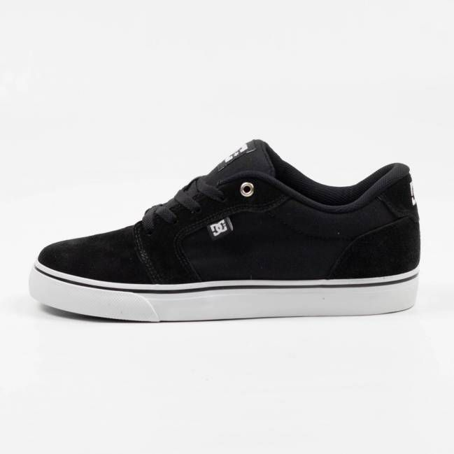 267f9e0cf7 Tênis DC Shoes Anvil La Preto/Branco - Skate Shop | Streetwear ...
