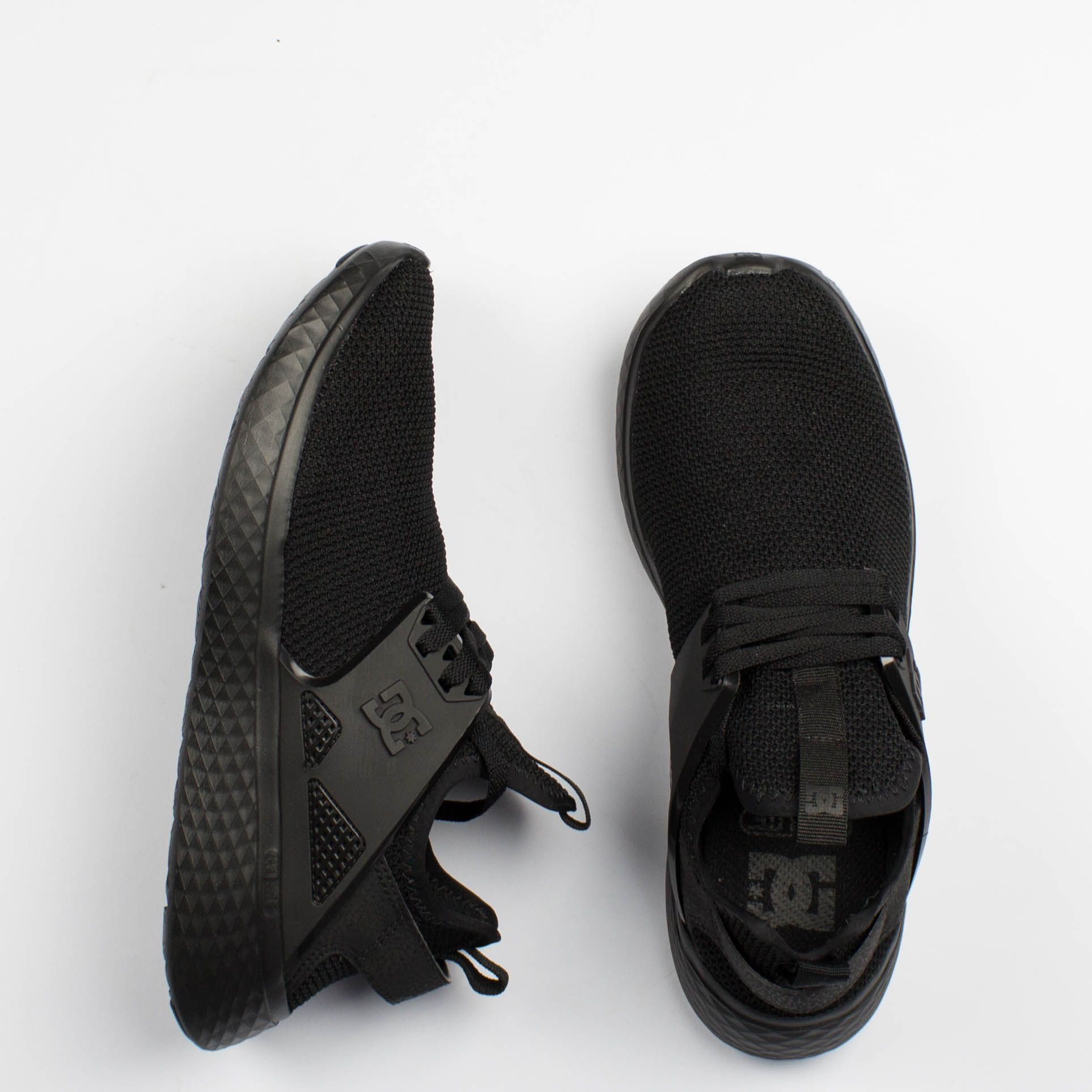 Tênis DC Shoes Meridian Preto Inteiro