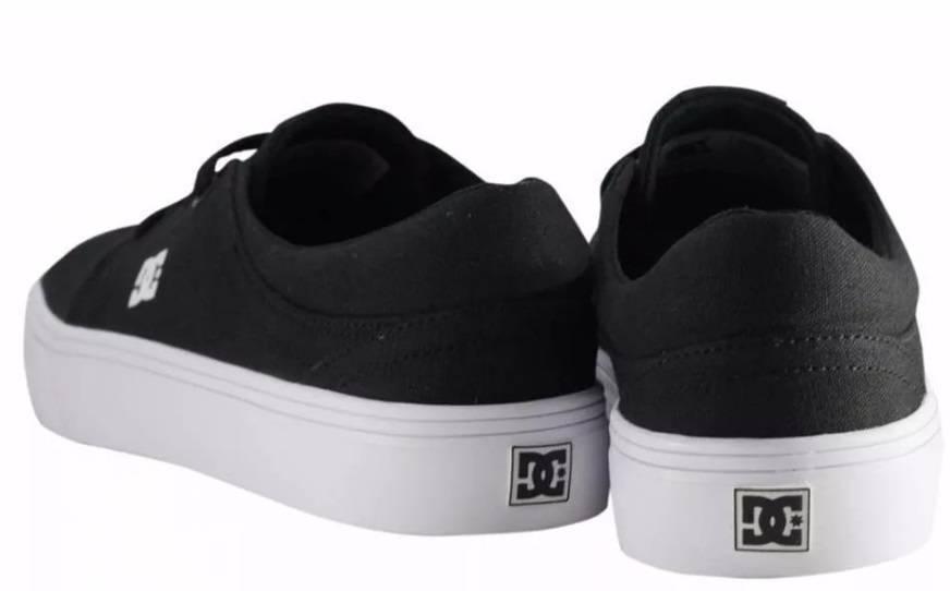 Tênis DC Shoes Trase Tx Black/White