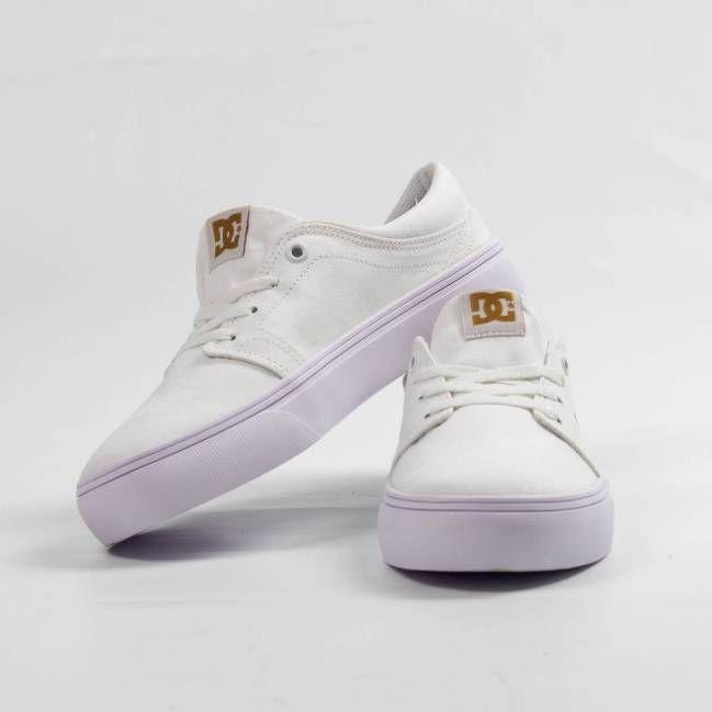 1bf2ea299 Tênis DC Shoes Trase Tx Branco - Skate Shop | Streetwear | Tênis ...