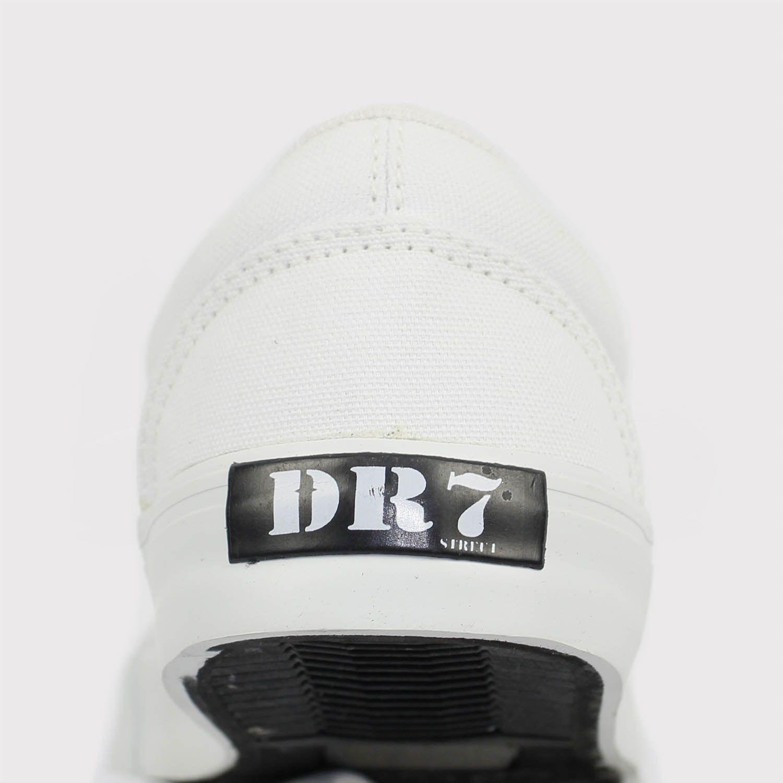 Tênis DR7 Flow Lona - Branco Total