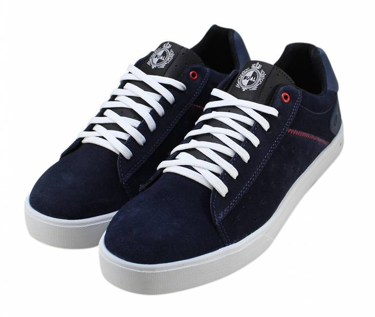 Tênis Dual Footwear Data Azul Marinho/Branco