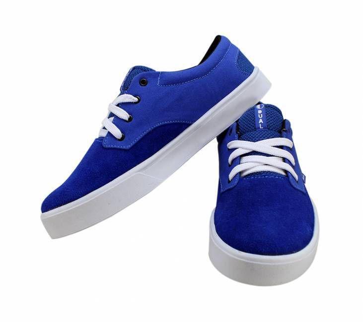 Tênis Dual Footwear Desde Bic Azul Royal
