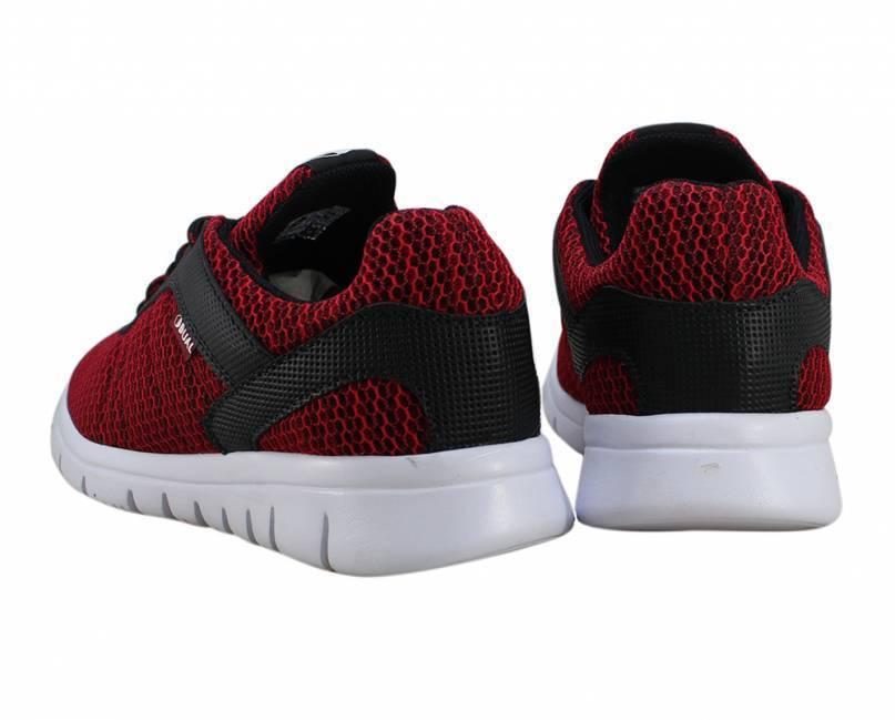 Tênis Dual Footwear Livre Vermelho/Preto