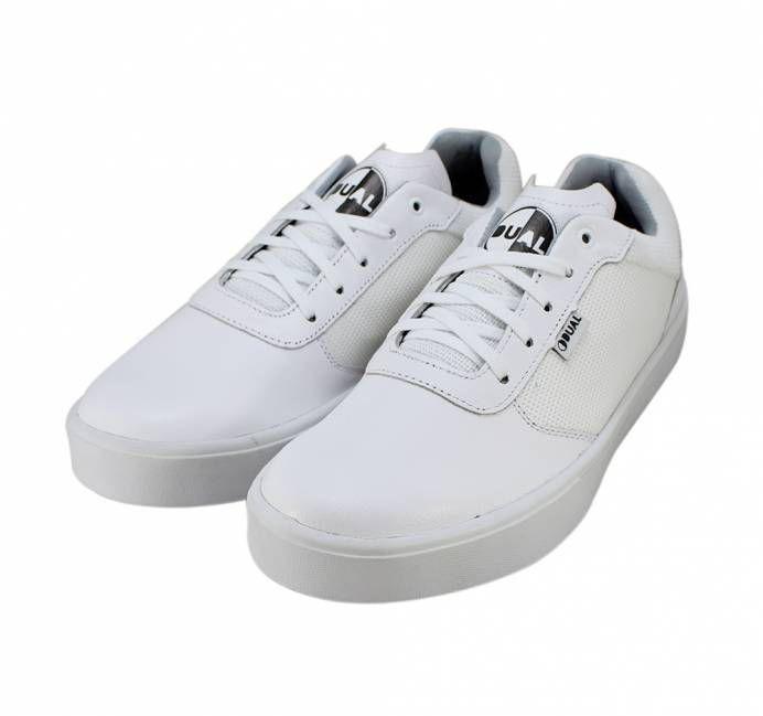 Tênis Dual Footwear Único Branco Total