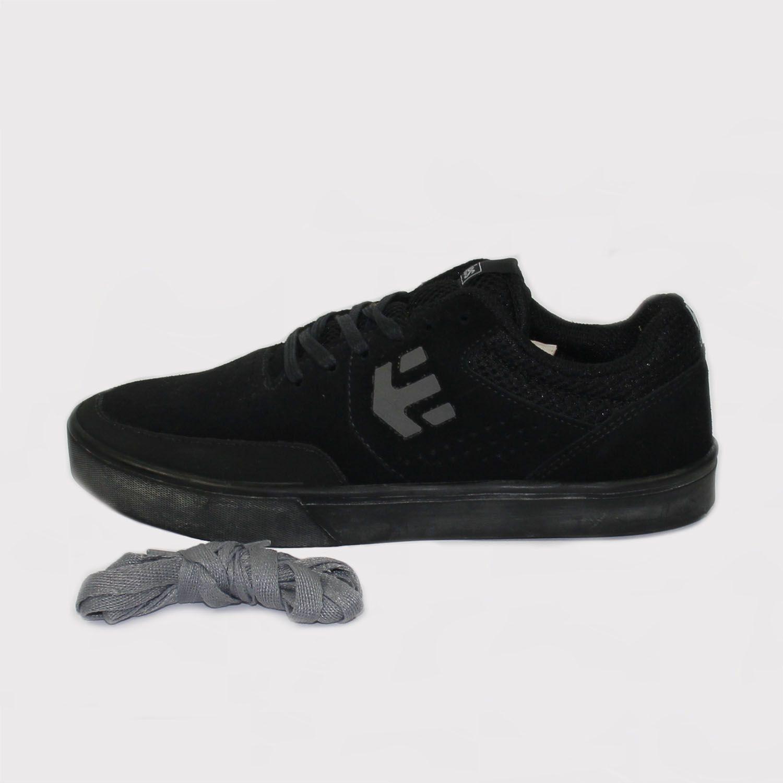 Tênis Etnies Marana Black/Black (Preto) + Cadarço