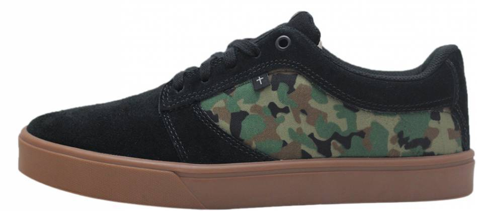 Tênis Faith Co. Son LT Preto Camuflado