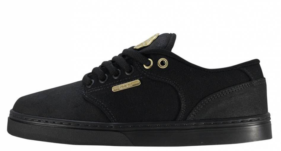 Tênis Hocks Montreal Black/Gold (Preto e Dourado)